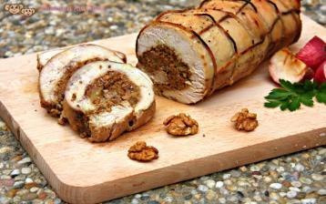 Krůtí roláda s ořechovo-jablečnou nádivkou (od 2 – 3 let)