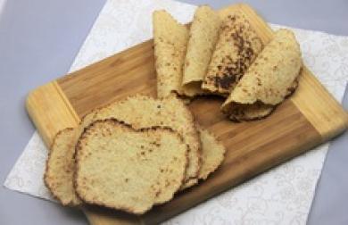 Bezlepkové nízkosacharidové tortilly