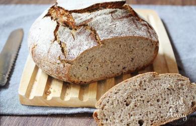 Kváskový chléb | bez hnětení