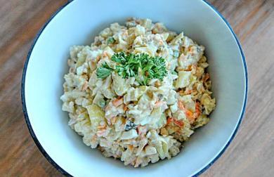 (Ne)bramborový salát