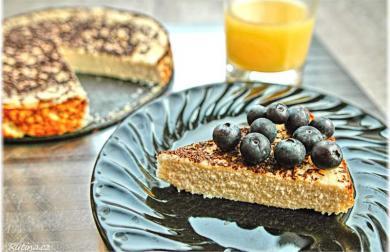 Snídaňový riccotový koláč