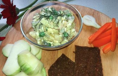 Odlehčený vlašský salát