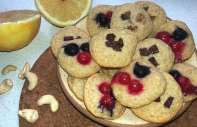 Jednoduché kešu sušenky bez mouky