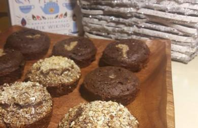 Kakaové muffiny