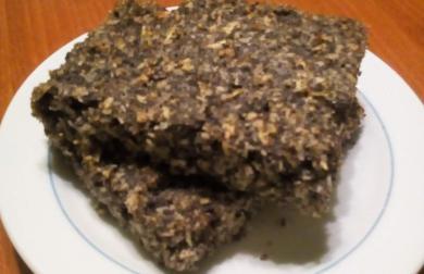 Makový koláč - bez mouky a skvělý