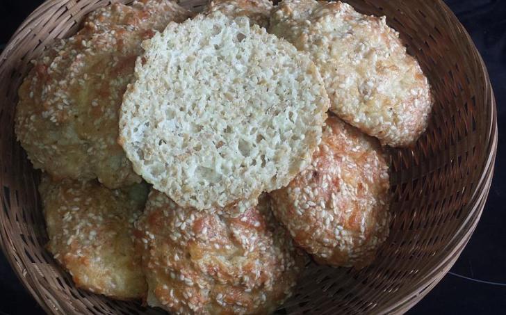 Lowcarb pečivo - sýrové houstičky
