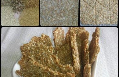 Semínkové krekry