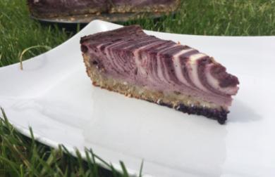 Kefírový dort s borůvkami ( redukční)