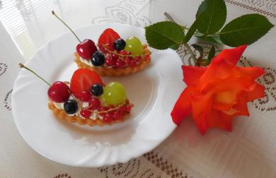 Ovocné lodičky