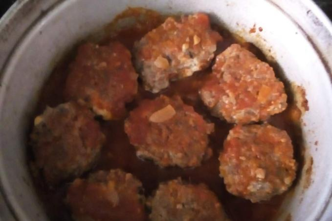 Pečené masové koule - nízkoscharidové