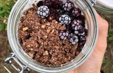 Domácí čokoládové müsli - nízkosacharidové
