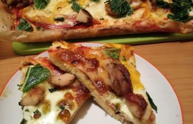 Květáková pizza - nízkosacharidová