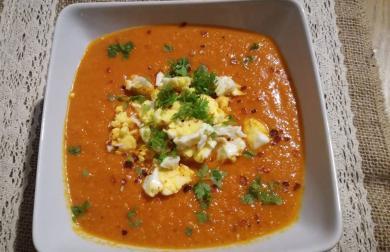 Rajčatová polévka - nízkosacharidová
