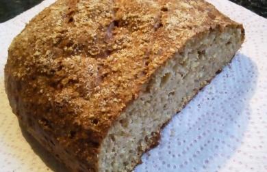 Chleba tvarohový - nízkosacharidový