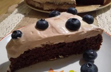 Čoko/červená řepa - dort nízkosacharidový