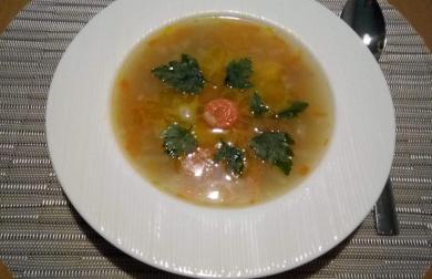 Rybí polévka - bezlepková
