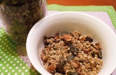 Zapékané müssli - bezlepkové s domácím ovocem