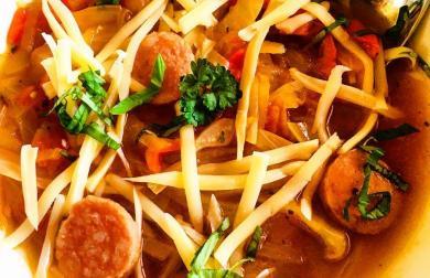 Tukožroutská polévka - nízkosacharidová