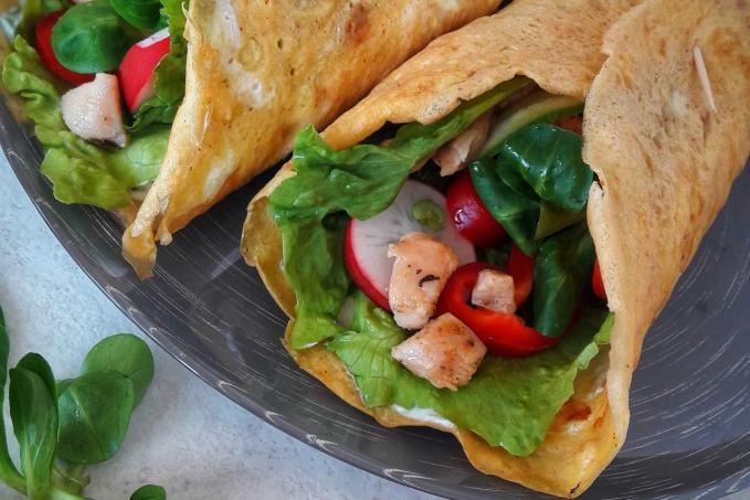 Domácí tortilly - Low carb