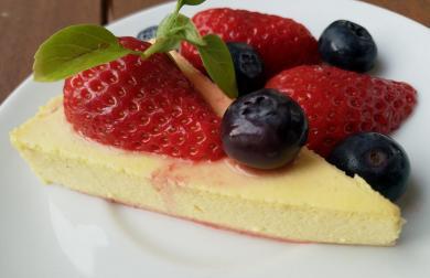 Pudinkovo - jogurtový dortík