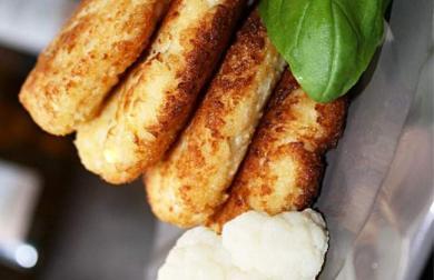Květákové placičky na másle - LC