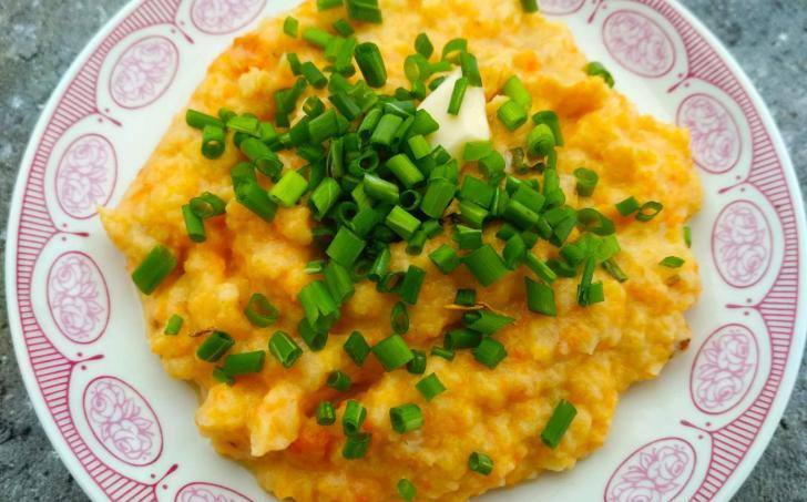 Štouchačka z celeru a mrkve