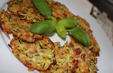 Křupavé zeleninové placičky - LC