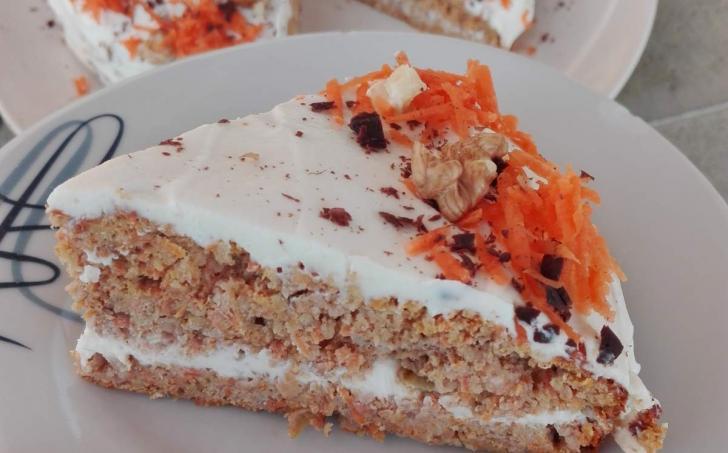 Carrot cake aneb Mrkvový dort