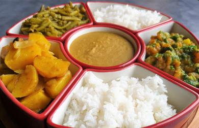 Krevetové curry Srí Lanka