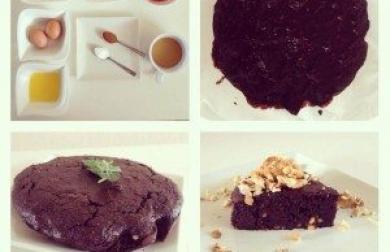 Domácí brownies - fitness