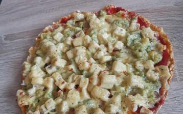 Pizza ze zelí - LC