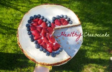 MOTHER'S DAY: HEALTHY CHEESECAKE