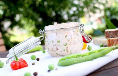 Pařížský vegan salát